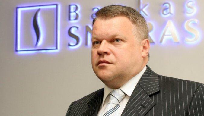 'Snoras' bijušo vadītāju īpašumiem uzlikts arests