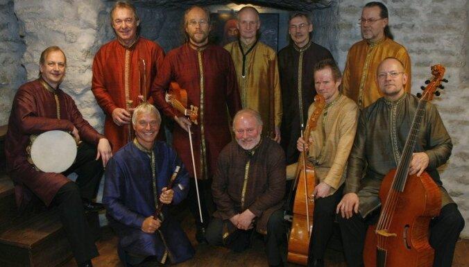 Senās mūzikas ansamblis 'Hortus Musicus' Rīgā atzīmē 40. jubileju