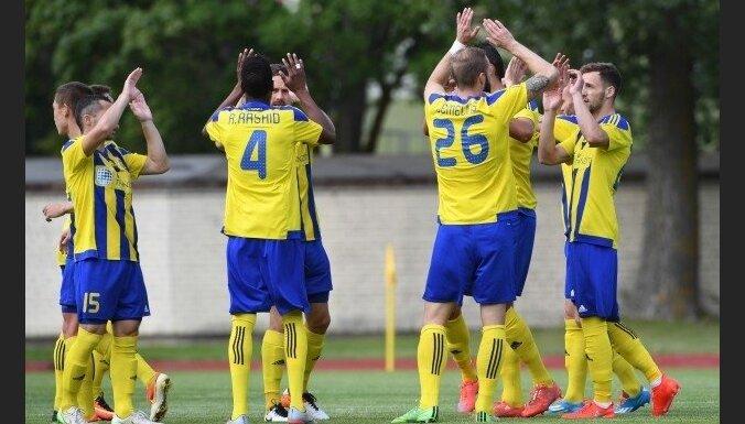 'Ventspils' futbolisti virslīgas spēlē droši uzvar pastarīti 'Daugavpili'