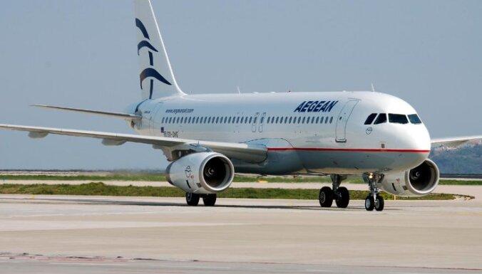 Греческая авиакомпания отказалась от маршрута Афины-Вильнюс