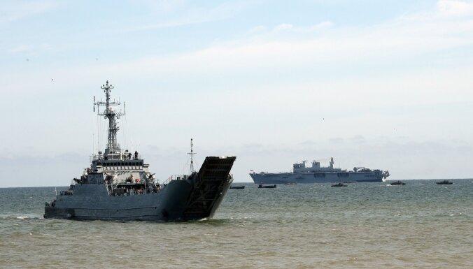 На Балтике испытывают технологии для морской безопасности Европы