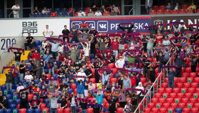 Maskavas CSKA līdzjutējs sodīts par atbalstu Baltkrievijas opozīcijai