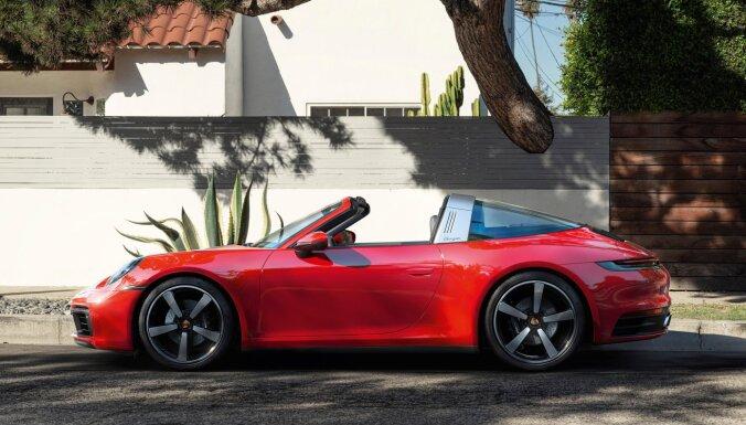 Jaunā 'Porsche 911' modeļa saimi papildina 'Targa' versija