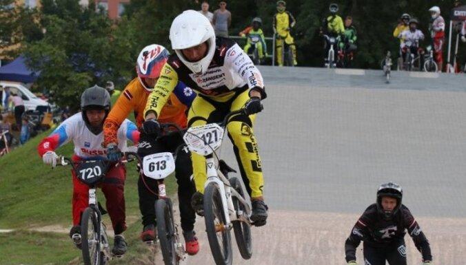 Treimanis uzvar Saldū aizvadītajā Latvijas BMX kausa posmā