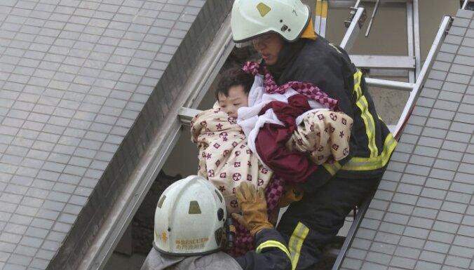 Taivānas zemestrīces upuru skaits pieaudzis līdz 29