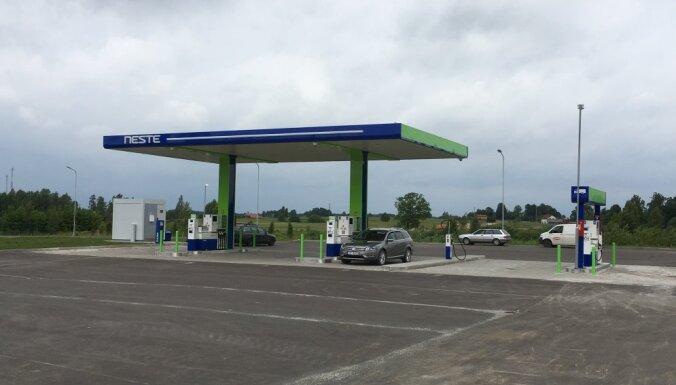 Neste инвестировала миллион евро в новую автозаправку в Тинужи