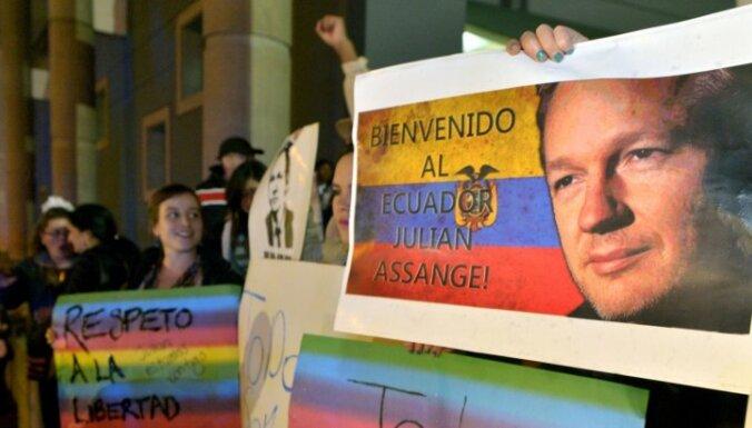 Ассанж рассказал об условиях жизни в посольстве Эквадора