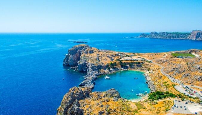 Rodas salas fotogēniskākās apskates vietas