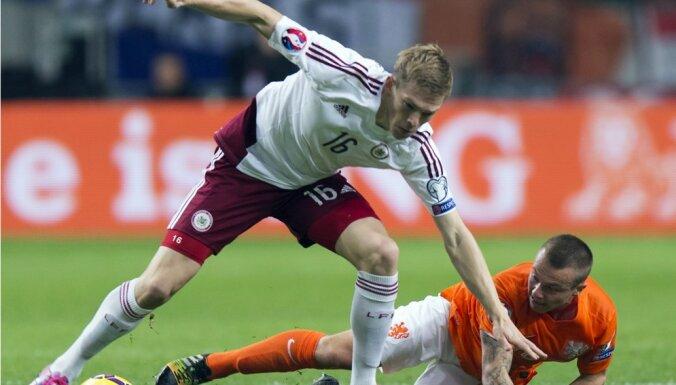 Rudņevs nepalīdzēs Latvijas izlasei oktobrī gaidāmajā PK kvalifkācijas spēlēs