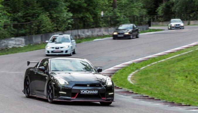 Minišosejas vēsturiskajā pēdējā posmā uzvar Liepiņš ar 'Nissan GT-R'