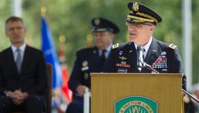 """Новый командующий НАТО в Европе заявил о столкновении с """"возрождающейся Россией"""""""
