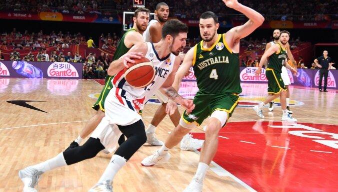 Francijas basketbolisti otro Pasaules kausu pēc kārtas izcīna bronzas medaļas