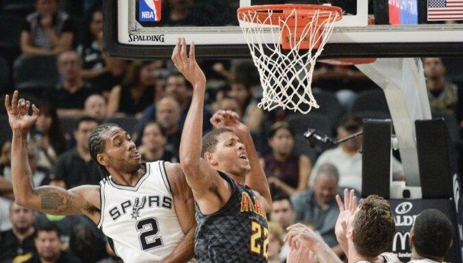Bertāns pēc pirmās spēles 'Spurs' laukumā: jutos kā mājās
