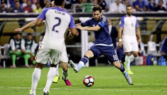 Argentina Lionel Messi, USA DeAndre Yedlin