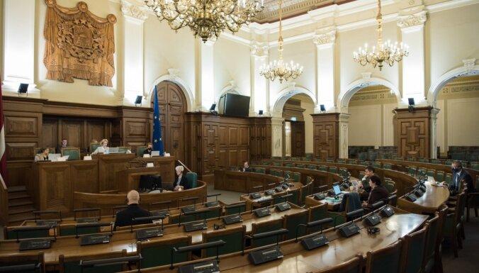 Saeima ziemas sesiju slēgs 29. martā, pavasara sesiju sāks 6. aprīlī