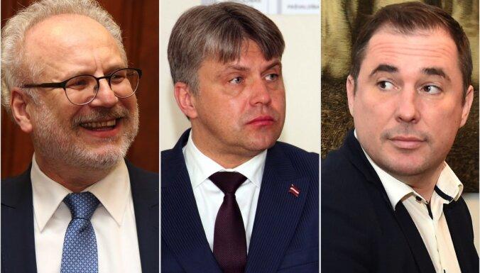 Valsts prezidenta vēlēšanās kandidēs trīs pretendenti – Levits, Jansons un Šmits