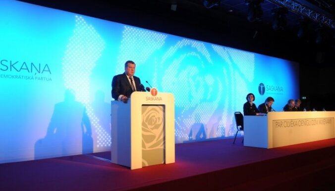 Partiju 'Saskaņa' turpinās vadīt Jānis Urbanovičs