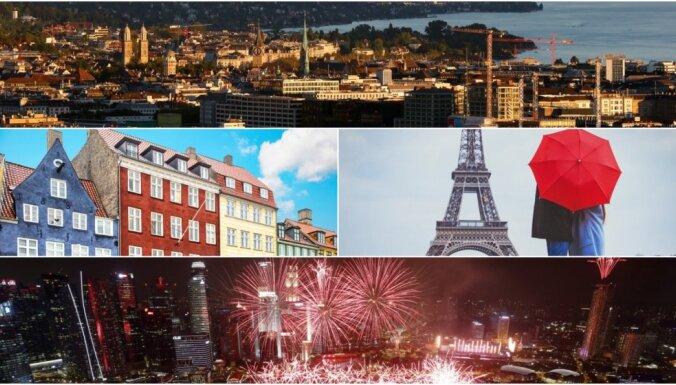 Jaunākais reitings: noskaidrotas pasaules 11 dārgākās pilsētas
