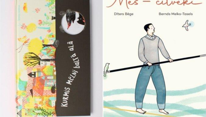 Starptautiskajā bērnu grāmatu dienā klajā laisti divi izdevumi jaunajiem lasītājiem