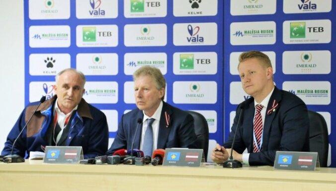 Starkovs apmierināts ar Latvijas izlases darbībām uzbrukumā pret Kosovu