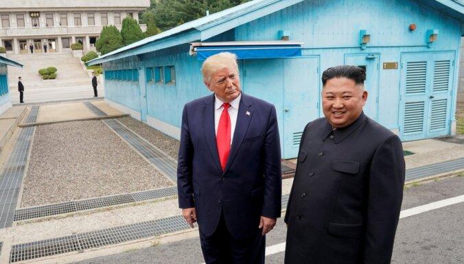 Ziemeļkoreja neplāno aizvadīt sarunas ar ASV