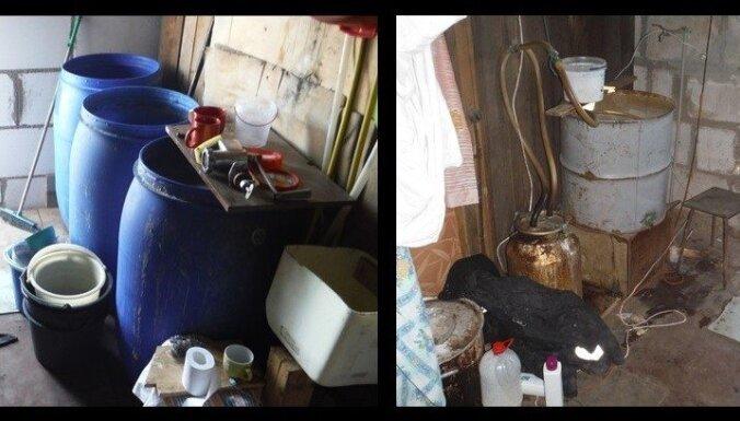 Полиция накрыла еще один подпольный спиртзавод