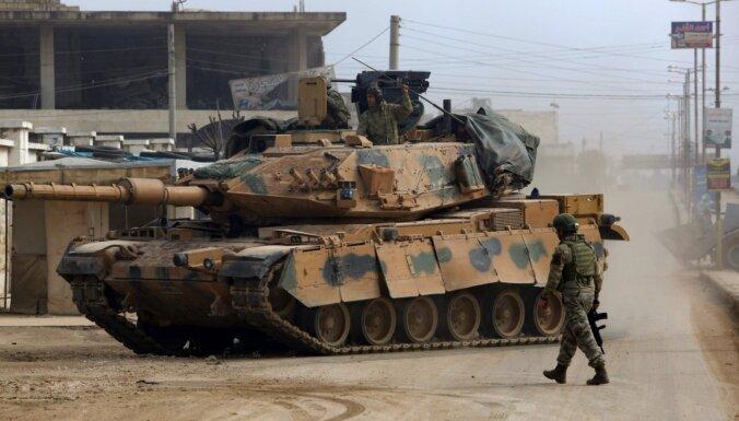 Turciju neapmierina sarunas ar Krieviju par situāciju Sīrijas ziemeļrietumos
