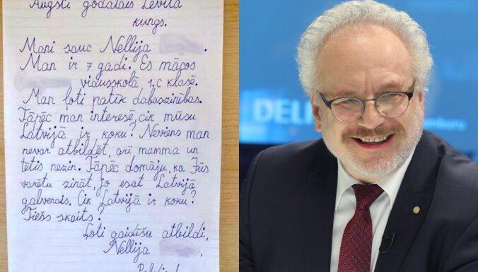ФОТО: Письмо первоклашки президенту Левитсу стало хитом соцсетей