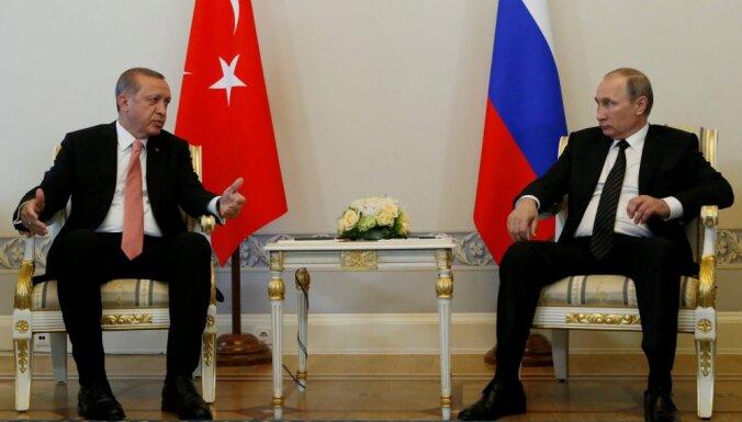 Эрдоган предложил Путину совместное производство ЗРК С-500
