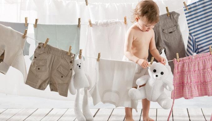 Kā mazgāt un balināt balto veļu
