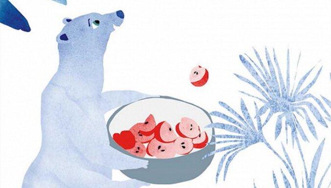 Izdota pasaku pavārgrāmata bērniem 'Baltais lācis'