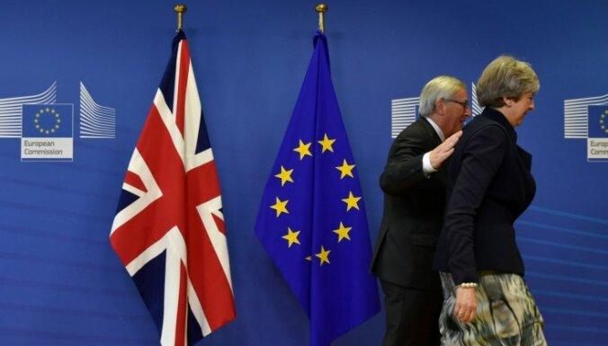 ES vienojas par sarunu nostāju pārejas periodam pēc 'Brexit'