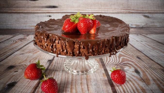 Šokolādes kūka bez miltiem