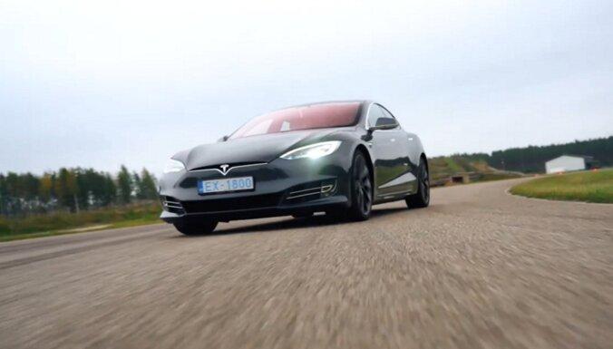 ВИДЕО. Быстрее ветра: тестирование суперкара Tesla S Performance