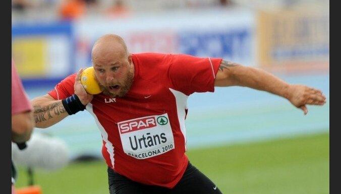 Urtāns un Ārents pirms dalības Eiropas čempionātā sasniedz sezonas personiskos rekordus