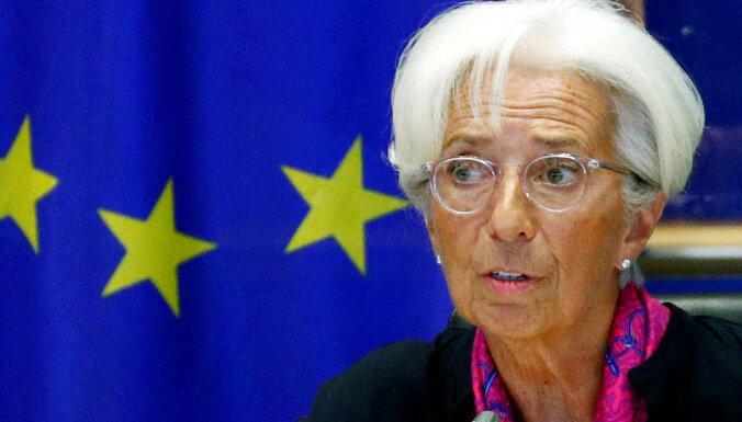 EP atbalsta Lagardas iecelšanu par Eiropas Centrālās bankas prezidenti