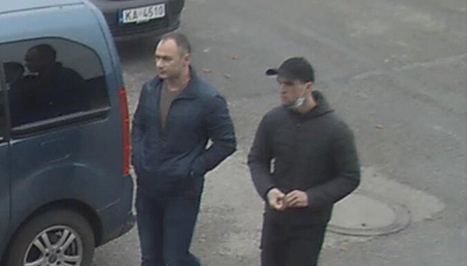 Policija lūdz palīdzību robežsarga slepkavības mēģinājumā vainotu vīriešu meklēšanā