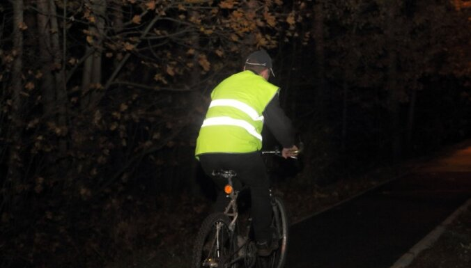 На этой неделе полиция массово проверяет наличие светоотражателей