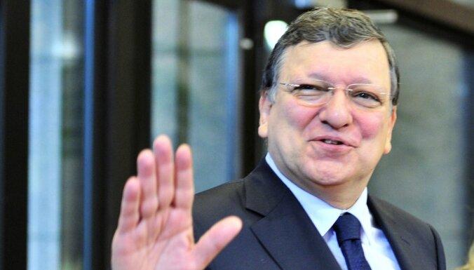 Баррозу подписал со странами Балтии партнерские договоры