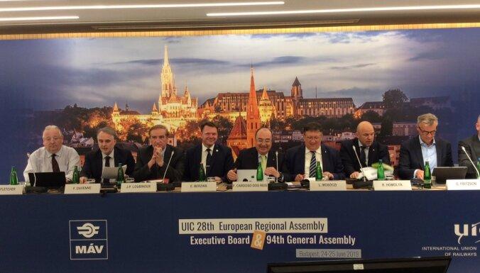 Президент Латвийской железной дороги Эдвин Берзиньш принял участие в дискуссии высокого уровня по стратегии будущего железных дорог
