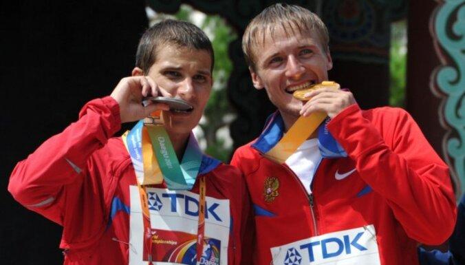 Par dopinga lietošanu diskvalificēti pieci krievu olimpiskie un pasaules čempioni soļošanā