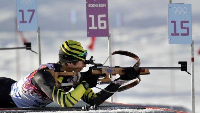 Расторгуев показал лучшее время на лыжне и финишировал восьмым в супермиксте