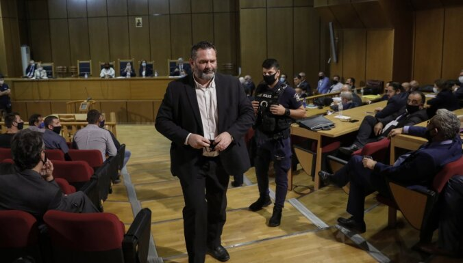 Beļģija piekrīt izdot Grieķijai bijušo 'Zelta rītausmas' līderi