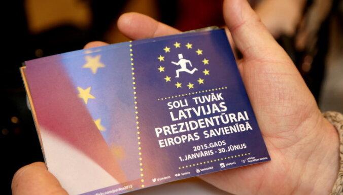"Пиебалгс оценил председательство Латвии в Совете ЕС на ""10 баллов из 10"""