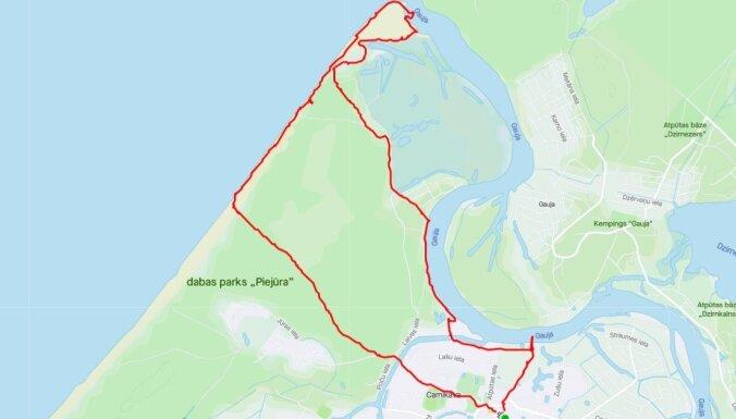 Интересный маршрут для прогулки: круг в 12 километров возле Царникавы