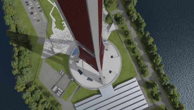 Sāk meklēt Zaķusalas televīzijas torņa 50 miljonu eiro vērtās pārbūves veicēju
