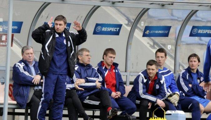 Центральный матч чемпионата Латвии завершился массовой потасовкой