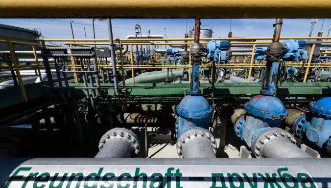 Maskava un Kijeva atjauno vienošanos par Krievijas naftas tranzītu