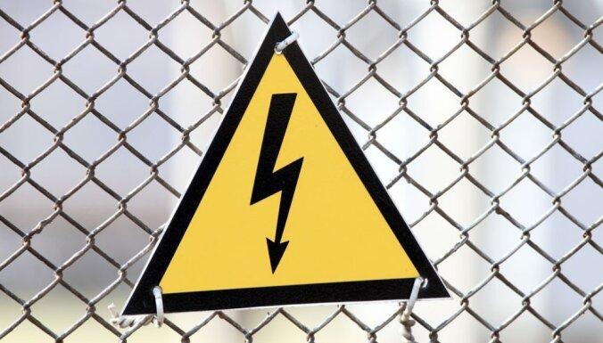 В Юрмале и Бабите были проблемы с подачей электричества