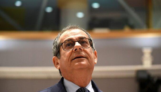Itālija neplāno mainīt budžeta galvenos aspektus, paziņo Trija